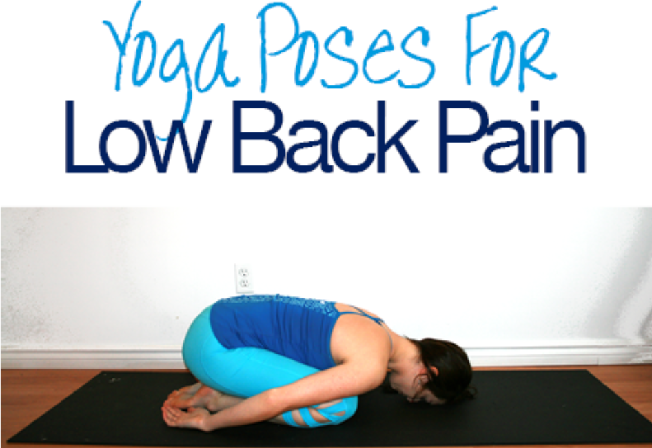 Relieve Low Back Pain with Yoga