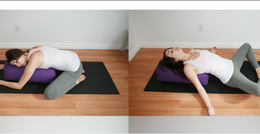 Five Ways to Use a Yoga Bolster