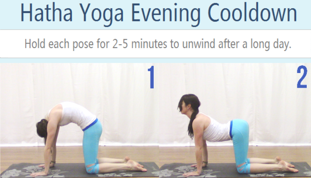 Hatha Yoga Evening Cooldown Sequence