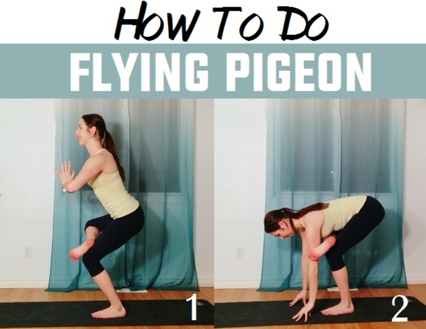 How To Do Flying Pigeon – Eka Pada Galavasana Tutorial