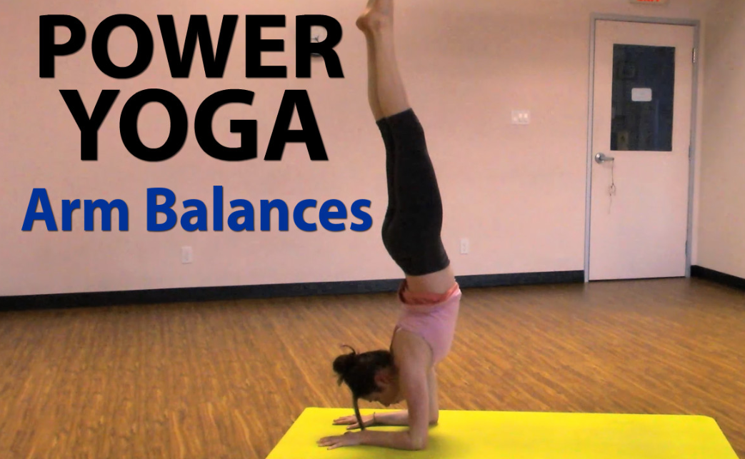 Power Yoga Full Class – Arm Balances & Core Strength
