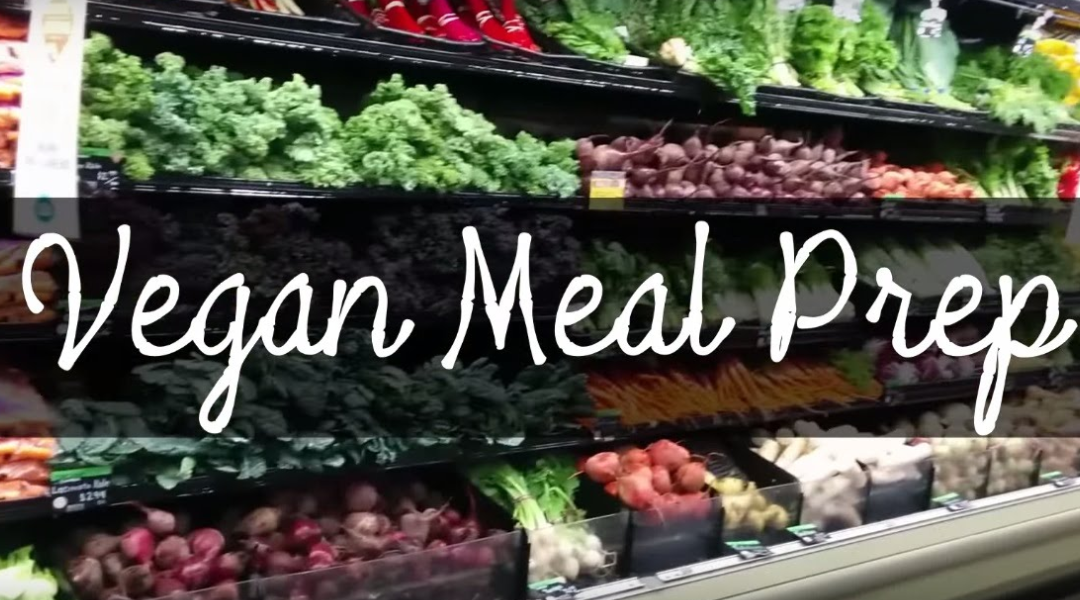 Vegan Meal Prep – 3 Healthy Lunches For The Week!