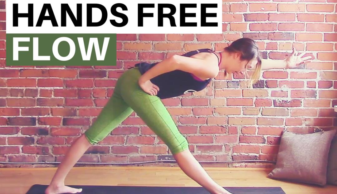 Hands Free Vinyasa Flow Yoga