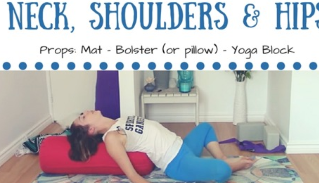 Yin Yoga for Neck, Shoulders & Hips – 60 min Class