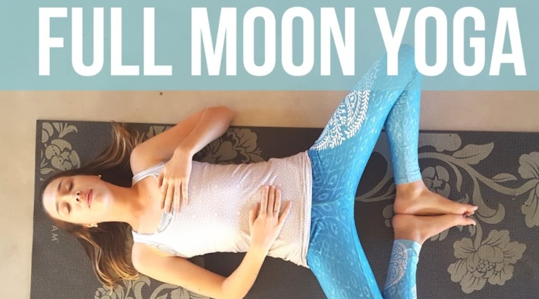 Full Moon Yoga Class – Moon Salutations