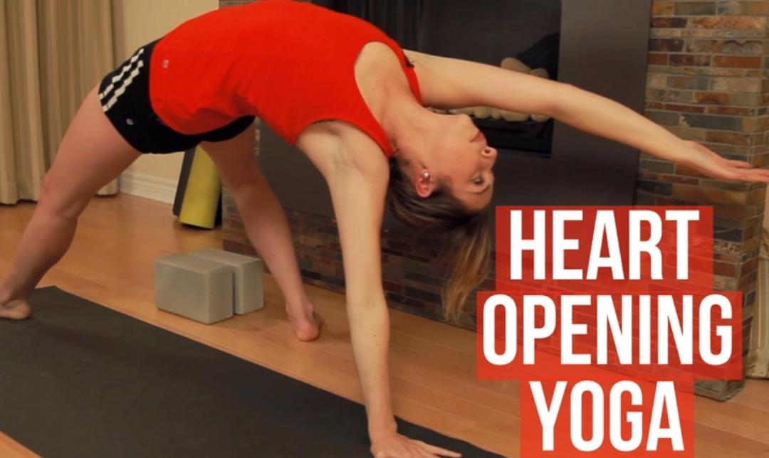 Heart Opening Yoga Class