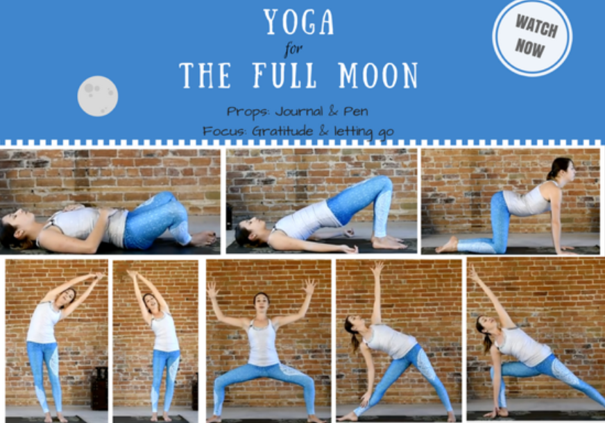 Moon Salutations Flow – 40 min free yoga class