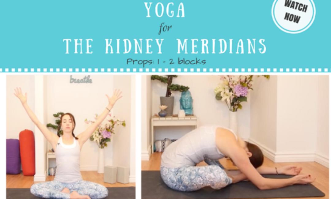 Kidney Meridian Yin Yoga – Full 50 min Class (hips & spine)