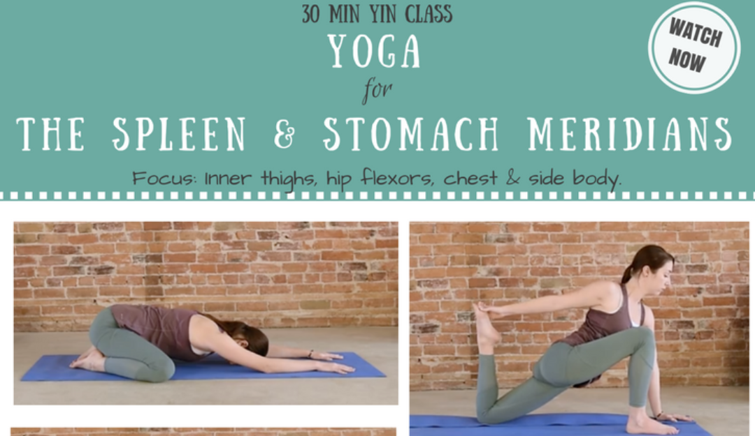 Best Yin Yoga Poses for the Spleen & Stomach Meridians