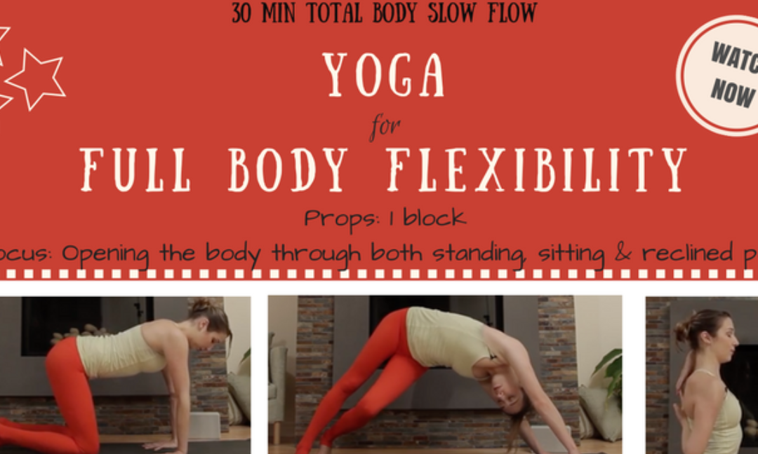 Full Body Stretch – Head to Toe 30 minutes