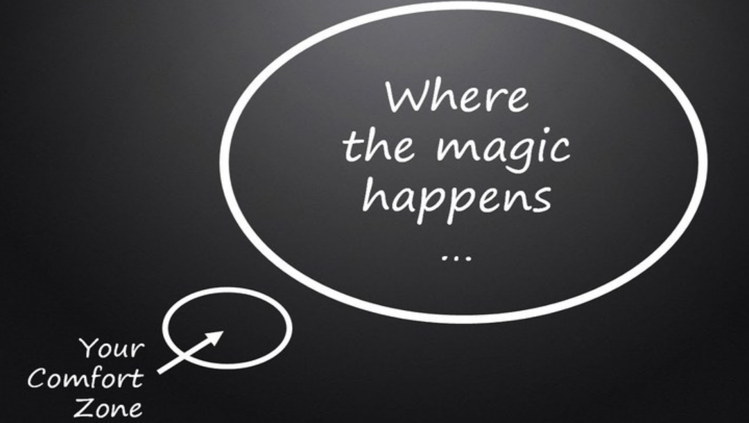If magic is outside your comfort zone, how do you take the leap?