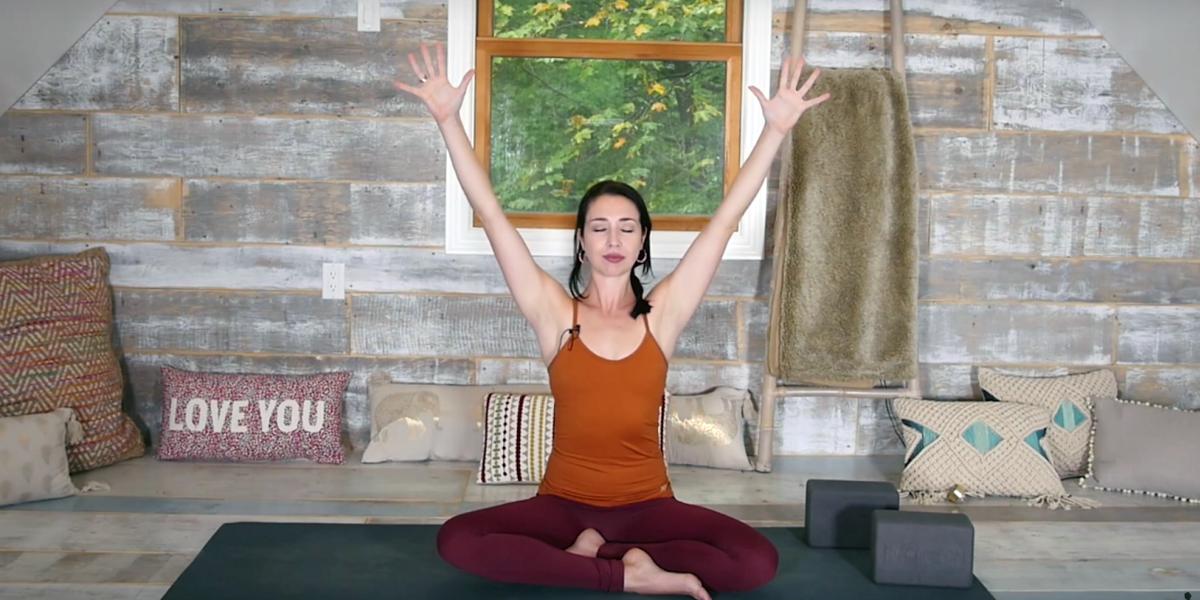 Rise Shine Power Yoga Flow Morning Vinyasa Stretch Strength 35 Min Yoga With Kassandra Blog