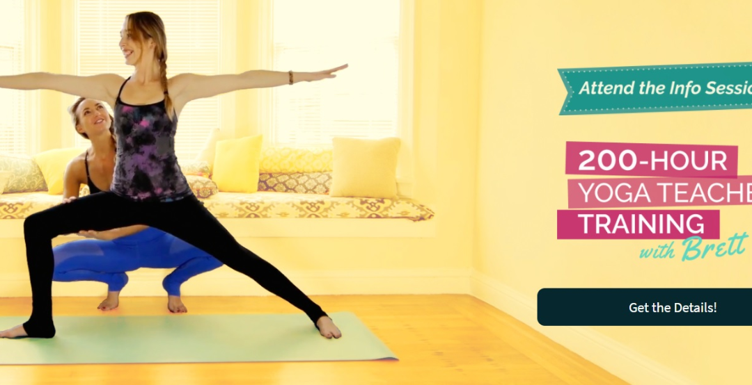 Interested in a 200 hour Yoga Teacher Training?