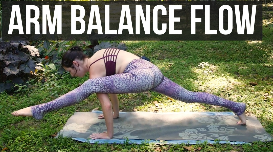 Arm Balance Flow – Journey to Eka Pada 2 {35 min}