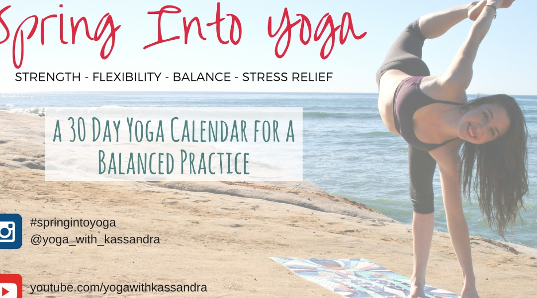SPRING INTO YOGA – Join The Challenge!