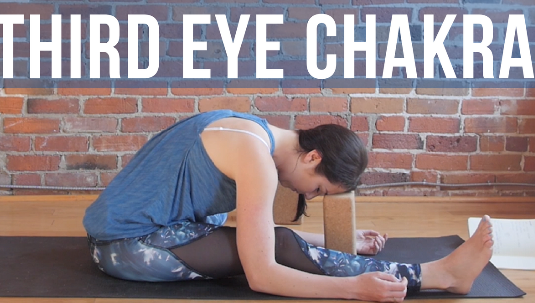 Third Eye Chakra Yin Yoga for Intuition and Insight {30 min}