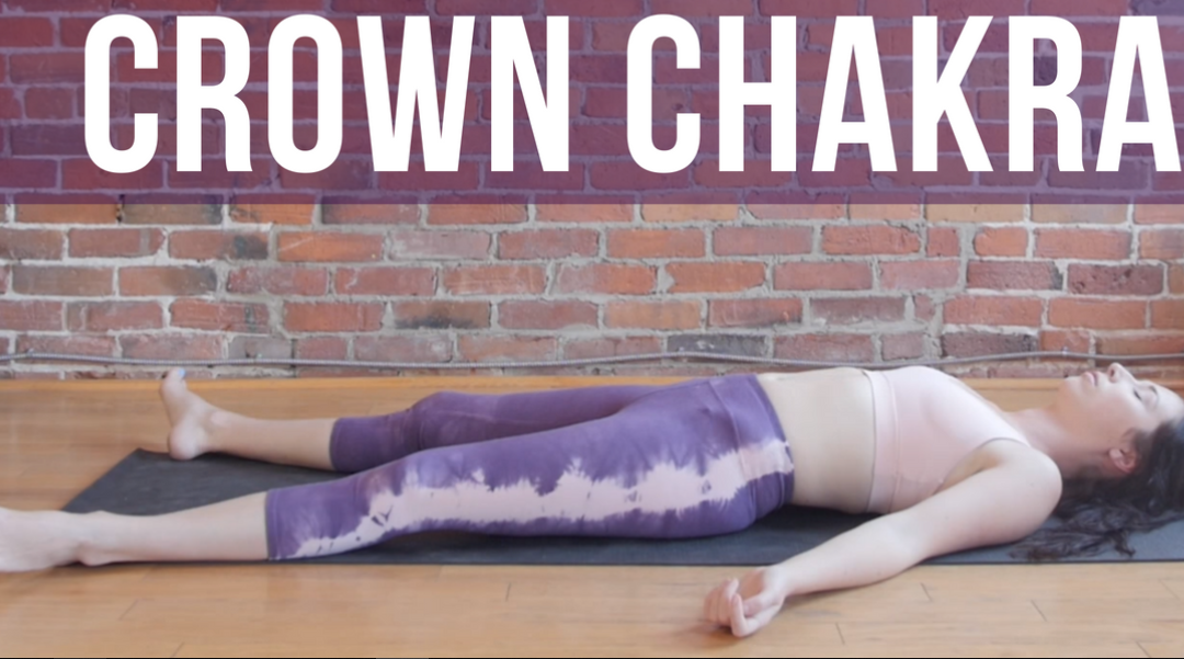 Crown Chakra Guided Savasana {15 min}