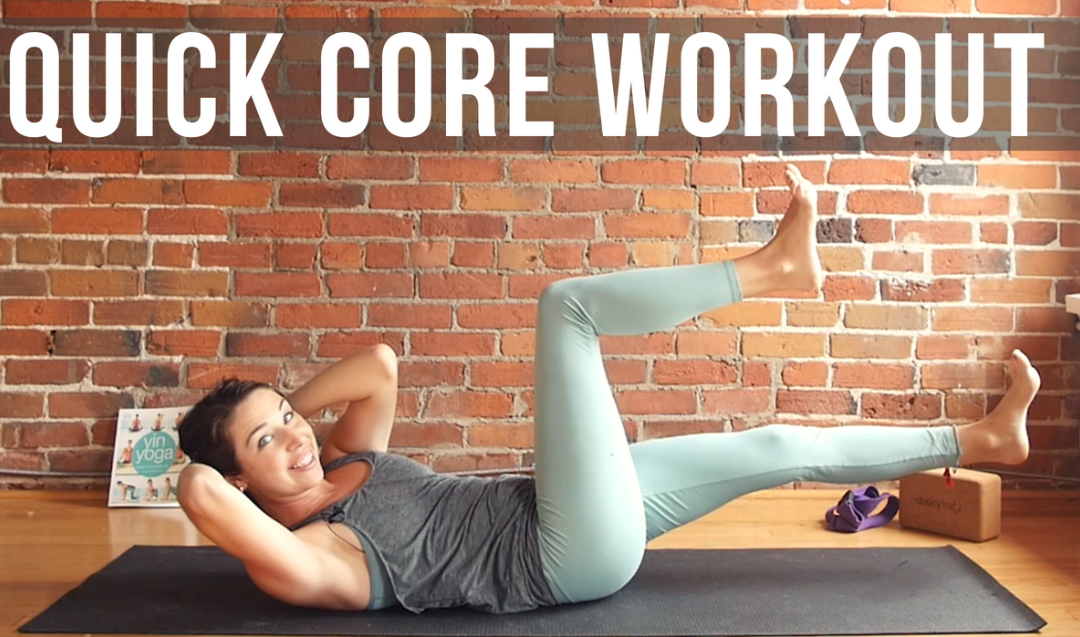 10 min Yoga for Core Strength