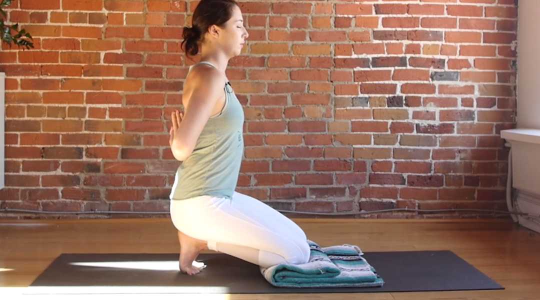 7 Yin Yoga Poses You Can Do Anywhere, No Props Required
