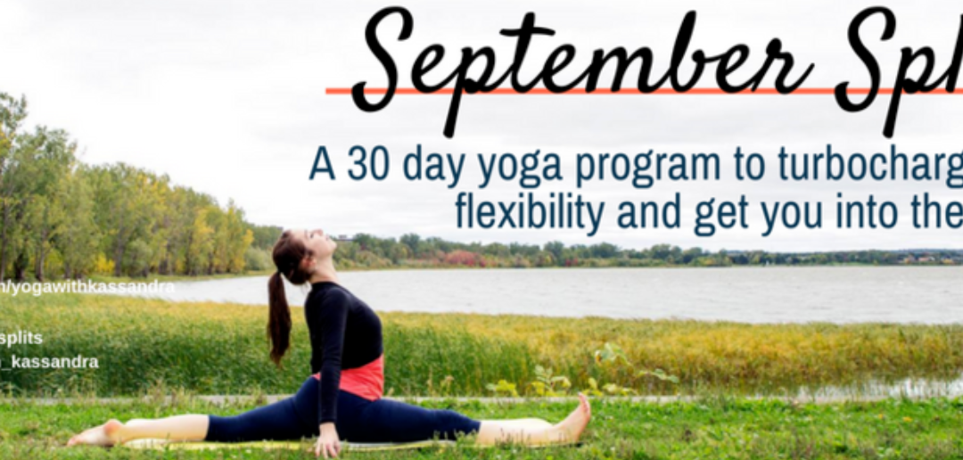 NEW September Splits Yoga Challenge!