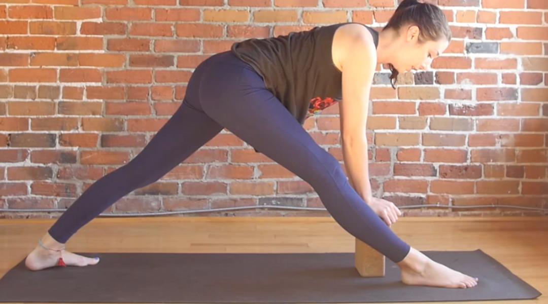 Yoga Stretch for Hips & Hamstrings {20 min}
