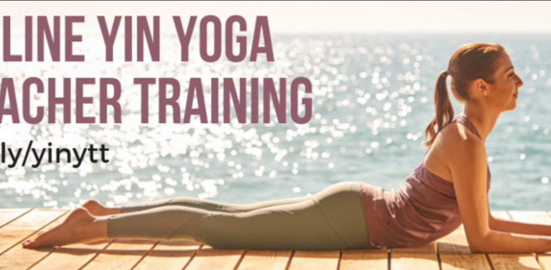 My online yin yoga training is CLOSING