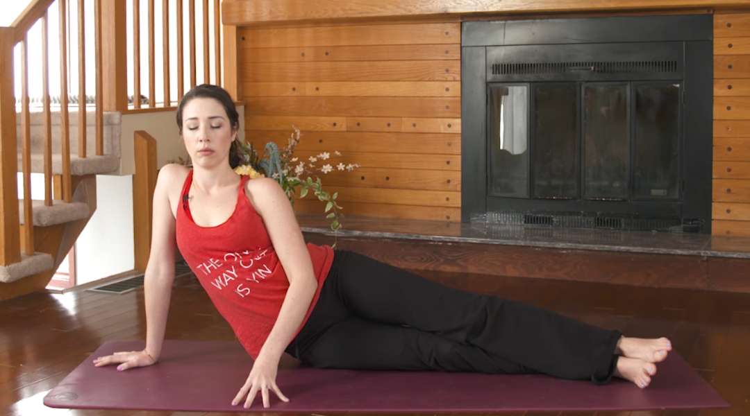 7 Yin Yoga Poses for a Full Body Stretch