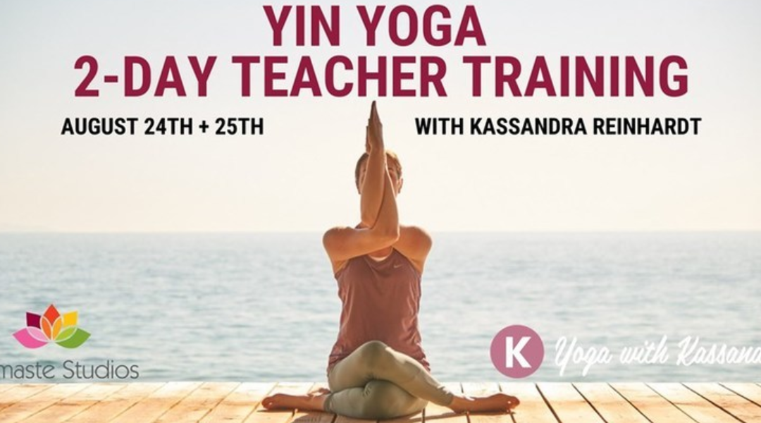 NEW Ottawa Yin Yoga Teacher Training!! 😍