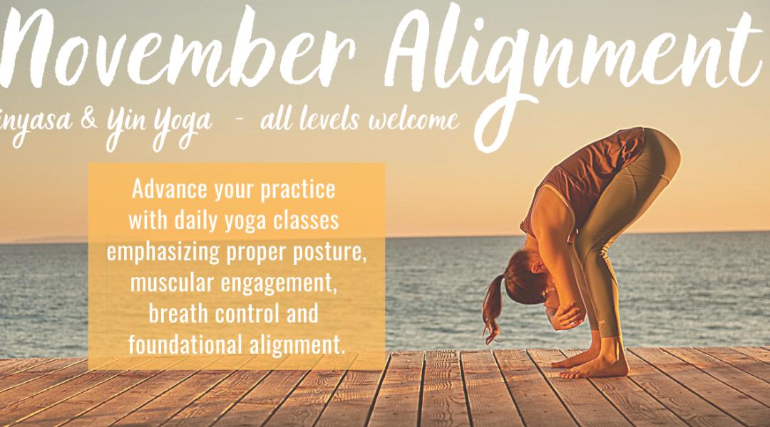 NEW November Yoga Challenge Inside 👇