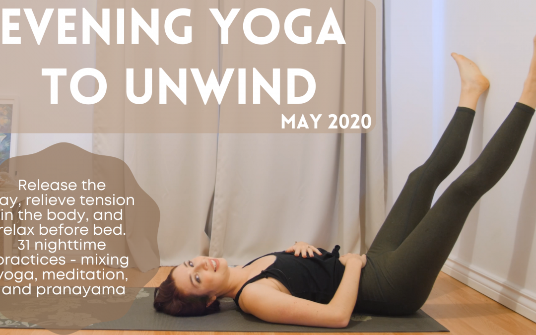 May 2020 🌙 Evening 🌙 Yoga Challenge