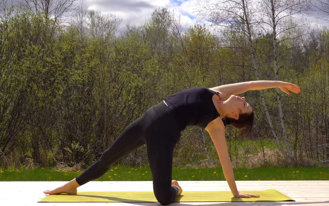 Intermediate Yoga Sequence (Poses Only, No Cues)